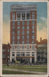 Chamber of Commerce Building Postcard