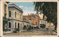 Main Street from the National Bank