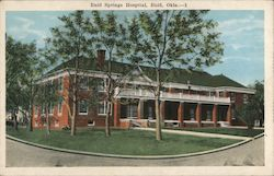 Enid Springs Hospital Postcard