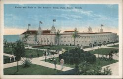 Casino and Pools at The Breakers Hotel Postcard
