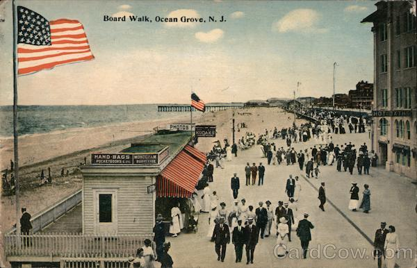 Board Walk Ocean Grove New Jersey