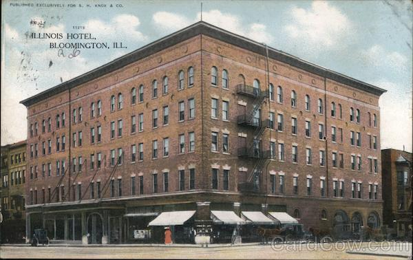 Illinois Hotel Bloomington