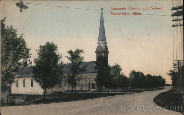 Emmanuels Church and School Manchester Michigan