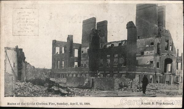 Ruins of the Great Chelsea Fire Disasters