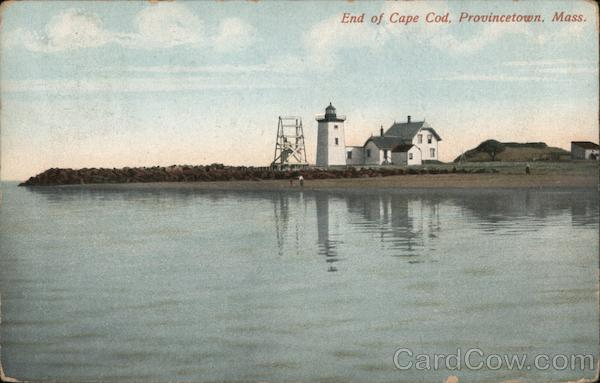End of Cape Cod Provincetown Massachusetts