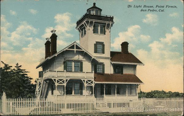 The Light House - Point Firmin San Pedro California