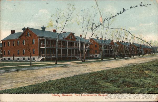 Infantry Barracks Fort Leavenworth Kansas