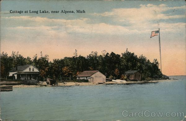 Cottage at Long Lake Alpena Michigan