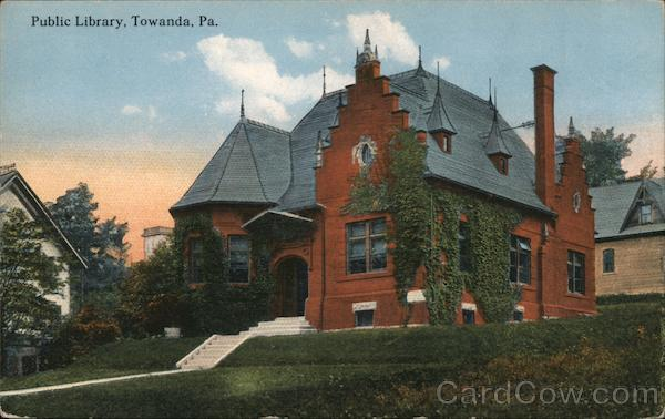 Public Library Towanda Pennsylvania