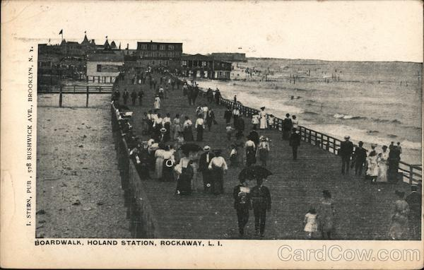 Boardwalk, Holand Station, Rockaway Queens New York