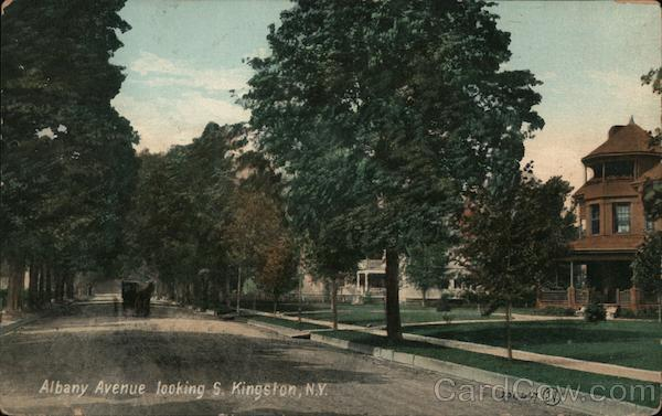 Albany Avenue looking South Kingston New York