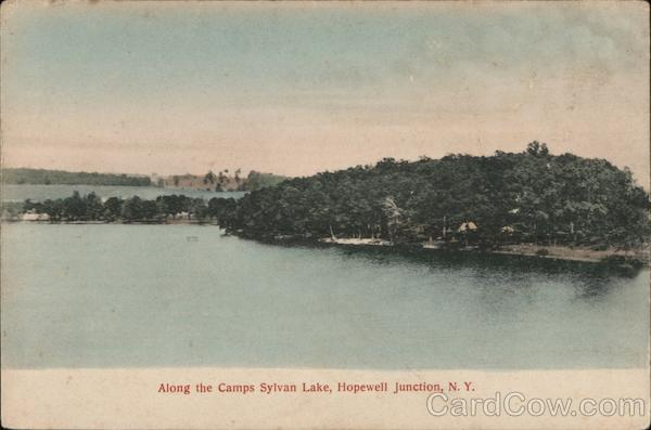 Along the Camps Sylvan Lake Hopewell Junction New York