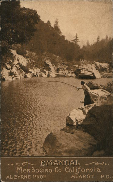 Emandal - Fishing on River Willits California