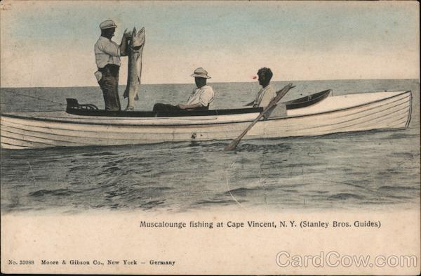 Muscalounge Fishing, Stanley Bros. Guides Cape Vincent New York
