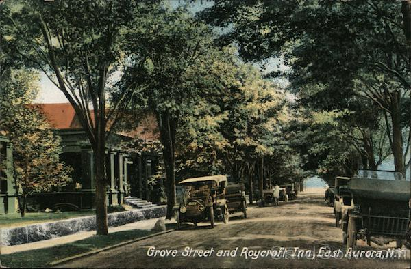 Grove Street and Roycroft Inn East Aurora New York