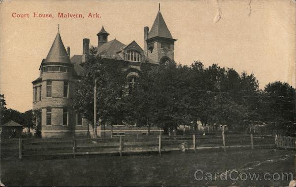Court House Malvern Arkansas