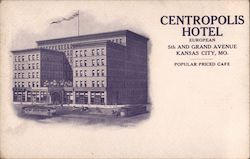 Centropolis Hotel, European, 5th and Grand Avenue, Popular Priced Cafe