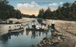 Children Bathing in the Shallows, Guadalupe River