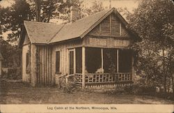 Log Cabin at the Northern