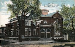 Second Christian Church Postcard