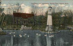 Log Cabin and Lighthouse, Palmer Park
