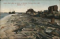 Water Front After the Storm of Sunday, January 20th, 1907