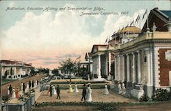 Auditorium, Education, History and Transportation Bldgs., Jamestown Exposition, 1907.