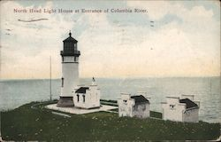 North Head Light House at Entrance of Columbia River.