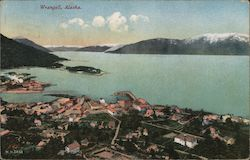 Aerial View of Wrangell