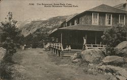 The Brinwood, Rocky Mountain National Park Postcard