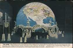 The Globe in the Palace of Transportation, Panama Pacific International Exposition