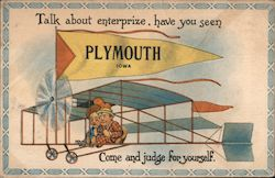 Talk About Enterprize, Have You Seen Plymouth Postcard