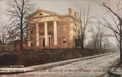 The Old Buford Mansion, Residence of Hon. E.W. Hurst