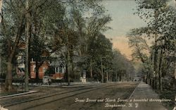 Front Street and North Street, a beautiful thoroughfare