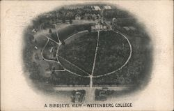 A Birdseye View of Wittenberg College