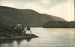 Hudson River Looking North From West Point Postcard