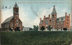N.Y. State Training School Chapel and Main Building