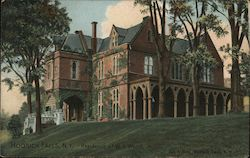 The Residence of W.A. Wood, Jr.