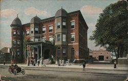 Hotel Holland Postcard