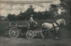 Fire Apparatus of Lewis Tompkins Hose Company Postcard