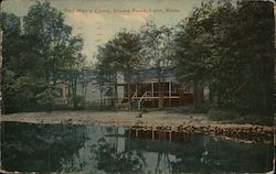 Red Man's Camp, Sluice Pond