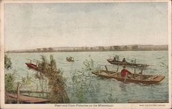 Pearl and Clam Fisheries on the Mississippi