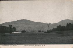 Gibson Mountain Postcard