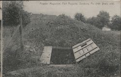 Powder Magazine, Fort Augusta