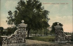 Entrance to Liberty Park