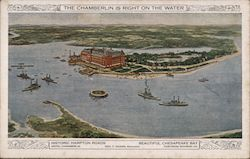 The Chamberlain is Right on the Water