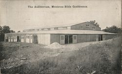 The Auditorium, Montrose Bible Conference Postcard