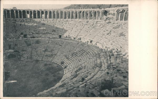 Roman Amphitheater Belkis Turkey Greece, Turkey, Balkan States