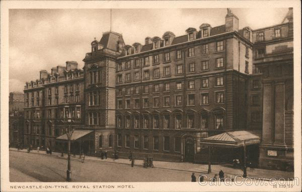Newcastle-on-Tyne, Royal Station Hotel London England