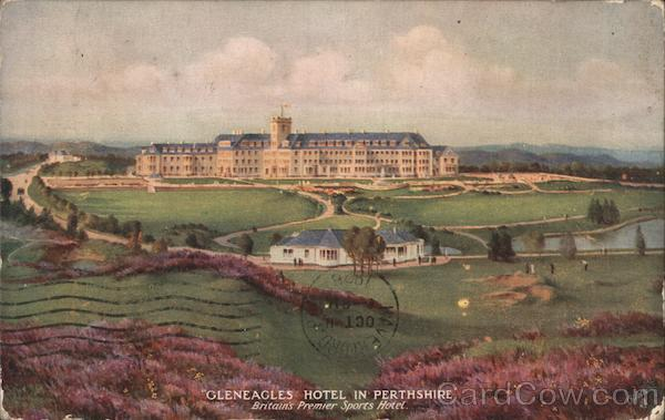 Gleneagles Hotel in Perthshire Scotland